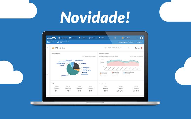 Lançamos nova versão da plataforma CleanCloud!